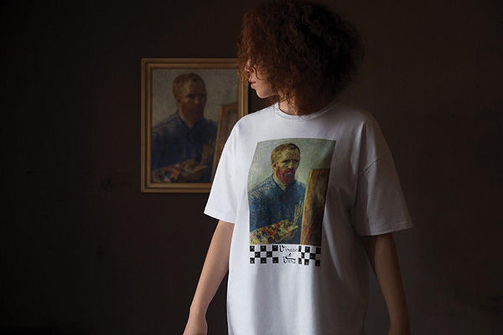Obras clássicas do pintor Vincent van Gogh (1853-1890) estampam roupas e  sapatos em uma parceria entre o Museu Van Gogh 623e81d87d37e