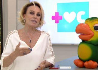 Ana Maria revela câncer no pulmão ao lado de Louro José — Foto: Reprodução/TV Globo
