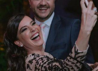 Maurício Manieri e a mulher, Iza Stein — Foto: Reprodução/Instagram